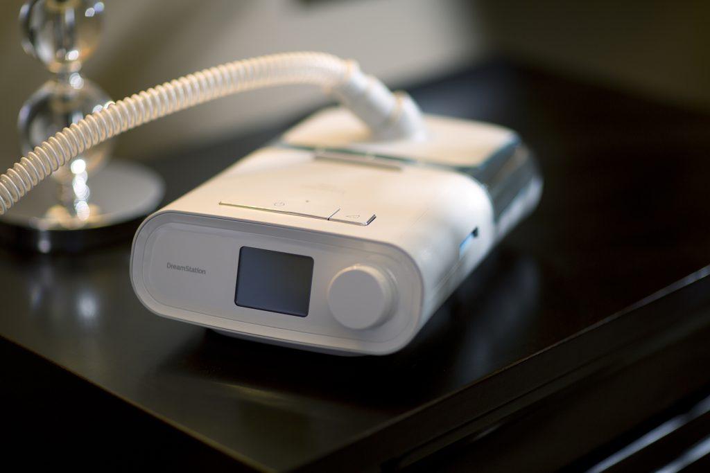 เครื่อง CPAP รักษานอนกรน